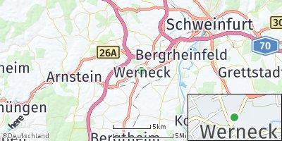 Google Map of Werneck