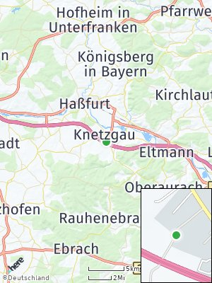 Here Map of Knetzgau