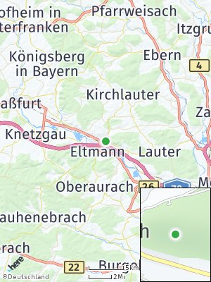 Here Map of Ebelsbach