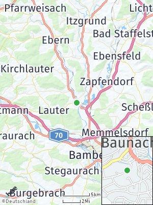 Here Map of Baunach