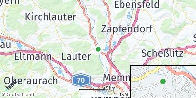 Google Map of Baunach