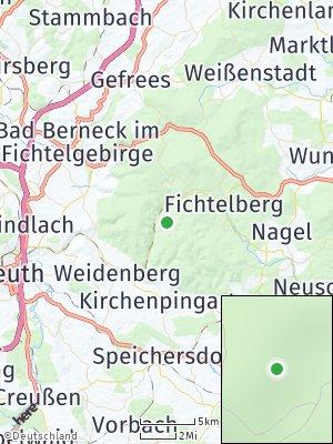 Here Map of Warmensteinach