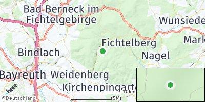 Google Map of Warmensteinach