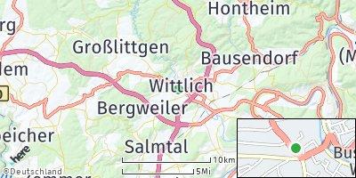 Google Map of Wittlich