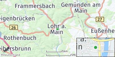 Google Map of Lohr am Main