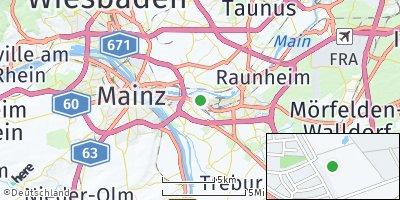 Google Map of Bischofsheim
