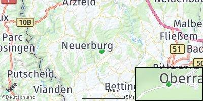 Google Map of Fischbach-Oberraden