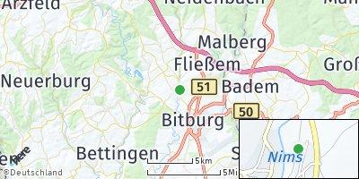 Google Map of Rittersdorf