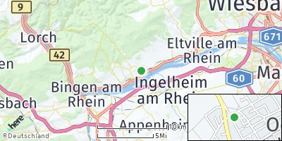 Google Map of Oestrich-Winkel