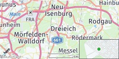 Google Map of Dreieich