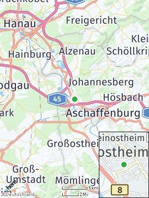 Here Map of Kleinostheim