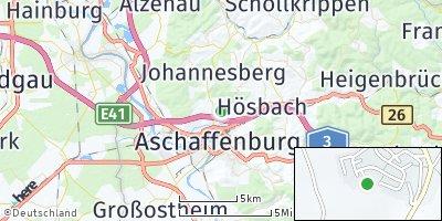 Google Map of Glattbach