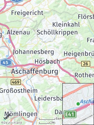 Here Map of Hösbach
