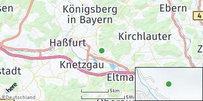 Google Map of Zeil am Main
