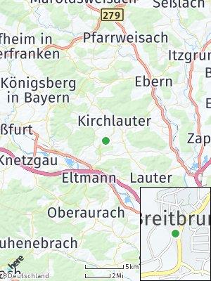 Here Map of Breitbrunn