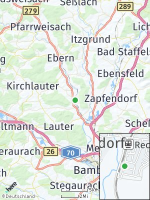 Here Map of Reckendorf