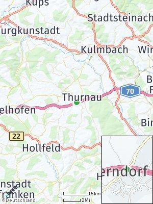 Here Map of Thurnau