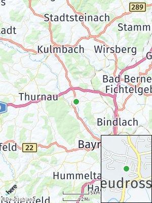 Here Map of Neudrossenfeld