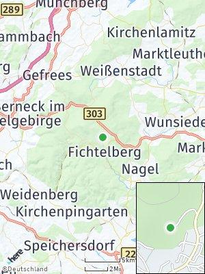 Here Map of Fichtelberg