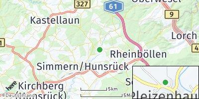 Google Map of Bergenhausen