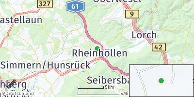 Google Map of Rheinböllen