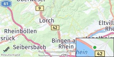 Google Map of Trechtingshausen
