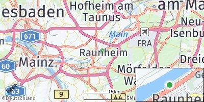 Google Map of Raunheim