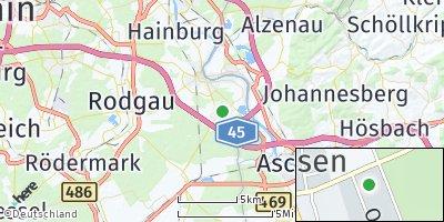 Google Map of Mainhausen