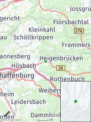 Here Map of Laufach