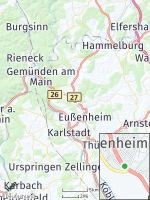 Here Map of Gössenheim