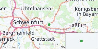 Google Map of Gädheim