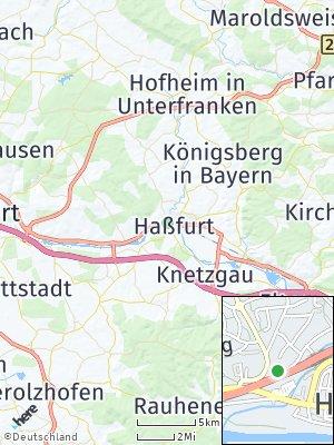 Here Map of Haßfurt