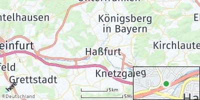 Google Map of Haßfurt