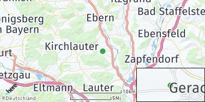Google Map of Gerach