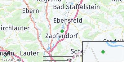 Google Map of Zapfendorf