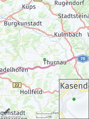 Here Map of Kasendorf