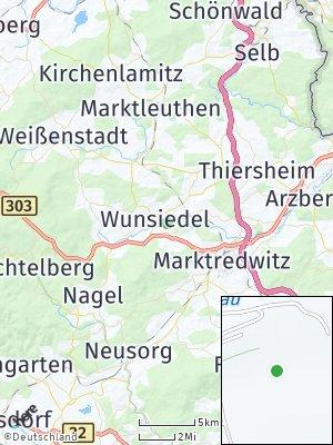 Here Map of Wunsiedel