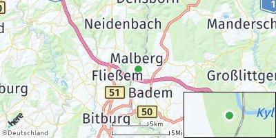 Google Map of Kyllburg