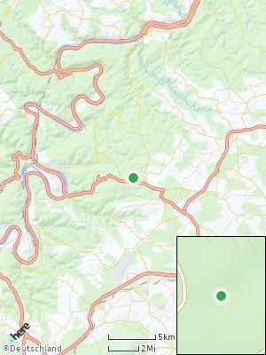 Here Map of Walhausen bei Blankenrath