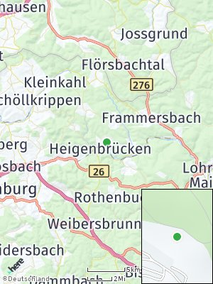 Here Map of Heigenbrücken