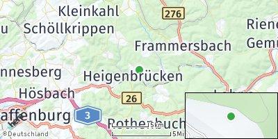 Google Map of Heigenbrücken