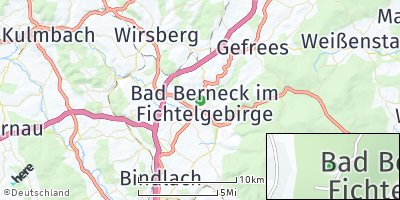 Google Map of Bad Berneck