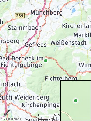 Here Map of Bischofsgrün