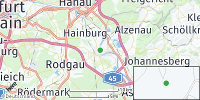 Google Map of Seligenstadt