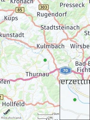 Here Map of Oberzettlitz