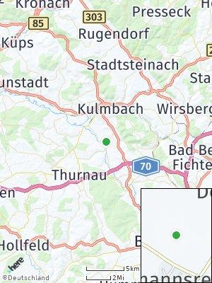 Here Map of Gößmannsreuth