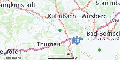 Google Map of Gößmannsreuth