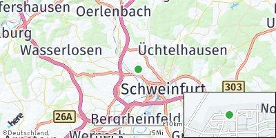 Google Map of Niederwerrn
