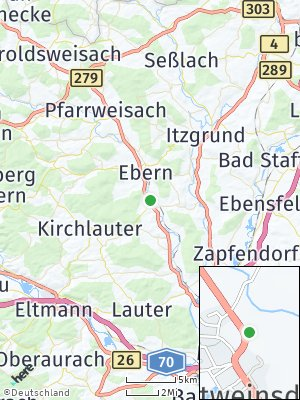 Here Map of Rentweinsdorf