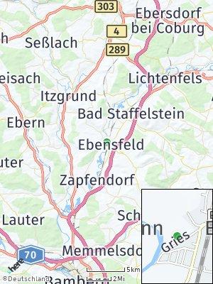 Here Map of Ebensfeld